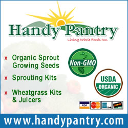 Certified Organic Sprouting Seeds And Sprout Growing Supplies
