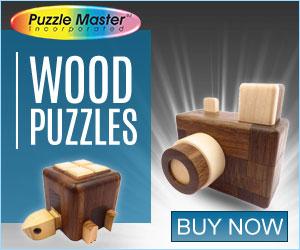 Christmas Theme Wood Puzzle