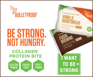 NEW! Bulletproof Collagen Bites! 300x250