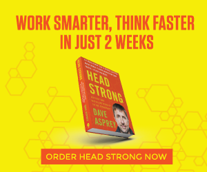 DAVE'S NEW BOOK: Head Strong! (Canada)