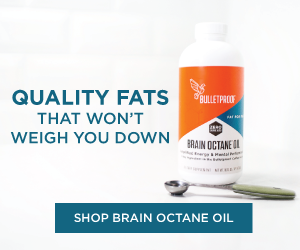 SHOP Bulletproof Brain Octane oil