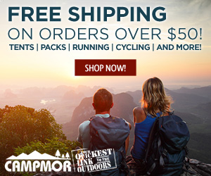 Shop Campmor for Your Quickest Link to the Outdoors