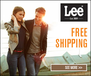 Free Shipping at Lee Jeans