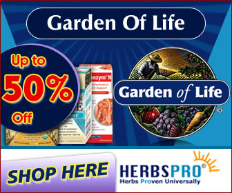 Garden of Life - Up To 50% Off