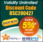 HerbsPro.com - Extra 5% Off on all Orders