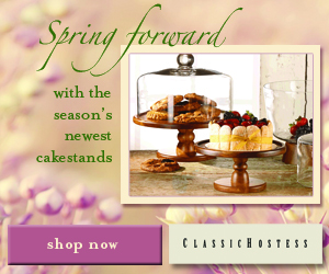 Cake Stands Banner