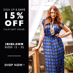Sign Up and Save 15% Off Your Next Purchase at IGIGI! Shop Now>