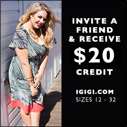 IGIGI.com | INVITE A FRIEND AND RECEIVE A $20 CREDIT