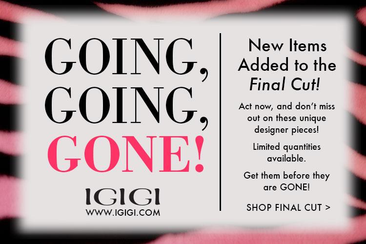 Designer Pieces at Huge Discount! IGIGI.com