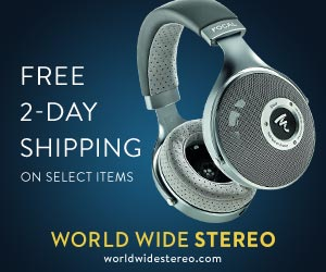 World Wide Stereo banner