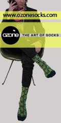 Ozone Socks - The Art of Socks - Click Here!