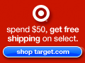 Spend $50, Get Free Shipping on Select Items