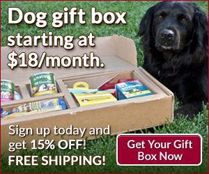 Subscribe to Pawalla box and get 15% off www.pawalla.com/saddog