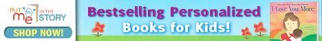 Bestselling Personalized Books for Kids!
