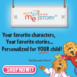 Your favorite characters, your favorite books... Personalized for YOUR child!