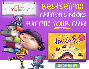 Bestselling Children's Books Starring Your Child