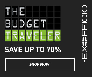 The Budget Traveler!  Save up to 70% on Great Deals for Smart Travelers.  Shop Men's and Women's travel clothing only at ExOfficio.com!