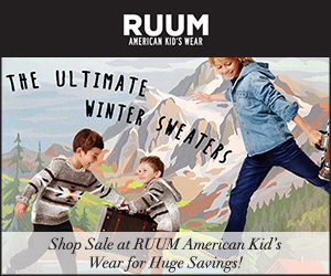 Don't Miss RUUM American Kid's Wear Site Wide Savings!