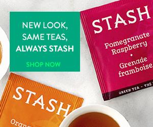 The New Look of Stash Tea