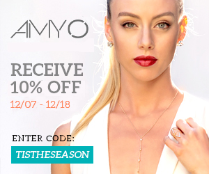 TIS THE SEASON 10% OFF YOUR ENTIRE PURCHASE AT AMY O. JEWELRY