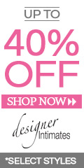 Up to 40% OFF on Designer Intimates