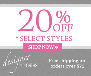 Up to 20% OFF on Designer Intimates