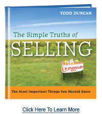The Simple Truths of Selling by Todd Duncan
