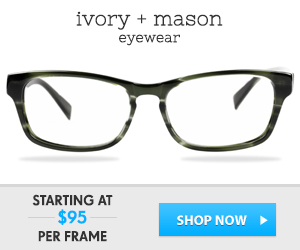 cheap prescription glasses | Ivory + Mason