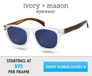Optical and sunglass eyewear.