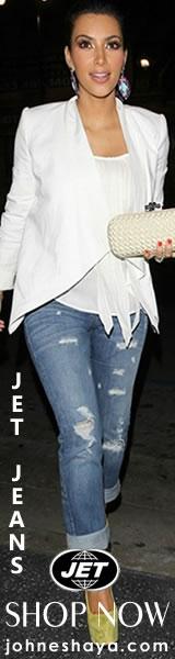 JET John Eshaya Slim Jamie Jean As Seen On Kim Kardashian