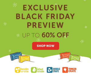Black Friday at Kiwi Crate