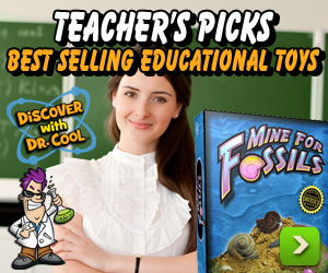 Save Up to 40% on Discover with Dr. Cool's Teacher's Picks for Best Selling Educational Toys & Kits! Limited Time Only!