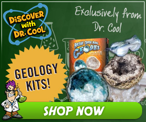 Learn About Geology with Discover with Dr. Cool's Geology Dig Kits!