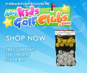 My Kids Golf Clubs - The #1 Online Kid's Golf Store