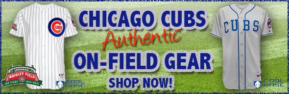 Chicago Cubs Wrigley Field 100 Year Banner