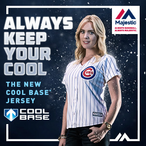 Chicago Cubs Cool Base Women's Jersey