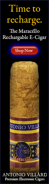 160x600 AntonioVillard Rechargeable ecigar