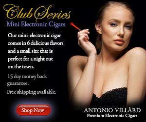 300x250 AntonioVillard club series mini-ecigars