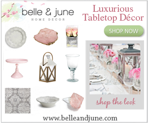 Design your perfect tablescape. Shop tabletop at belleandjune.com