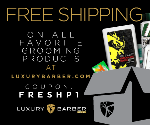 Free shipping on luxurybarber.com Grooming made easy