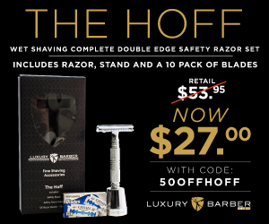 Get 50% the Luxury Barber Double Edge Safety Razor at luxurybarber.com