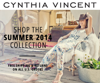 Shop CynthiaVincent.net Spring 2014