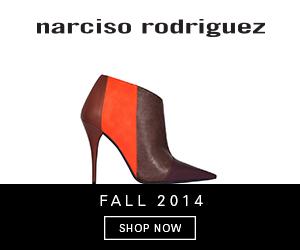 Narciso Rodriguez Fall 2014 shoes