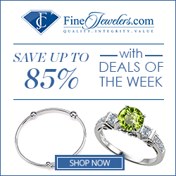 Save up to 85% with the Deals of the Week at FineJewelers.com!