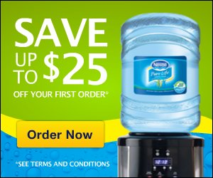 Nestle Pure Life - Up to $25 Off 160x600
