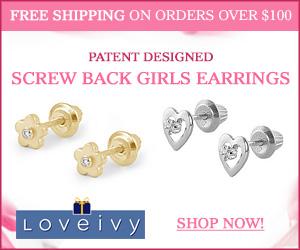 Shop Loveivy's Patent Designed Screw Back Earrings!