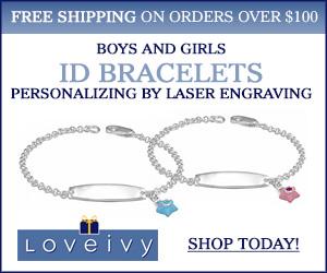 Shop Personalized ID Bracelets at Loveivy.com!