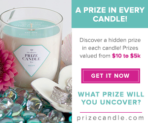 Prize Candle!