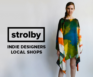 Shop Indie. Shop Strolby.