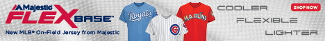 NEW FOR 2016! MLB Authentic On-Field Flex Base jerseys. The new on-field jersey worn by players has changed this year, with new innovative design to incorporate increased flexibility, cooling, and comfort for the players.